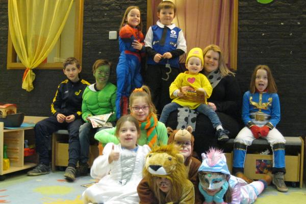 Carnaval in Kinderclub Centrum